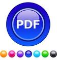 Pdf circle button vector