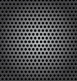 Seamless circle metal surface texture vector