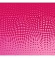 Pink polka dot background vector