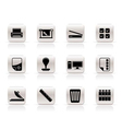 Print industry icons vector