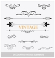 Calligraphic vintage elemets and symbols set vector