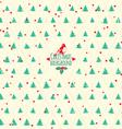 Merry christmas festive background christmas tree vector