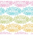 Dream floral damask seamless pattern background vector