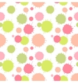 Seamless pattern with painted splash texture vector
