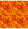Fire flame seamless pattern vector