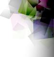 Asbtract geometric background vector