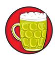 Beer pint clip art vector
