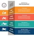 Biker infographic classification chart vector
