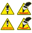 Warning sign fun vector