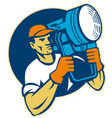 Film lighting vector