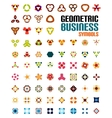 Set of colorful editable business symbols vector