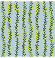 Seamless striped texture with plants vector