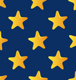 Cute seamless pattern tiling made of stars star vector
