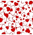 Seamless background with heart eps 8 vector