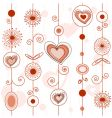 Love concept pattern vector