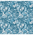 Seamless spring background with lily flowers clipp vector