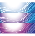 Set of bright technical banners vector