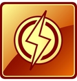 Isolated power icon vector