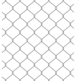 Chain fence seamless pattern vector