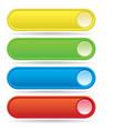Button bars vector