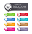 Design elements with icons vector