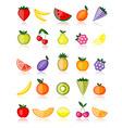 Energy fruits vector