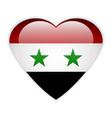 Syria flag button vector