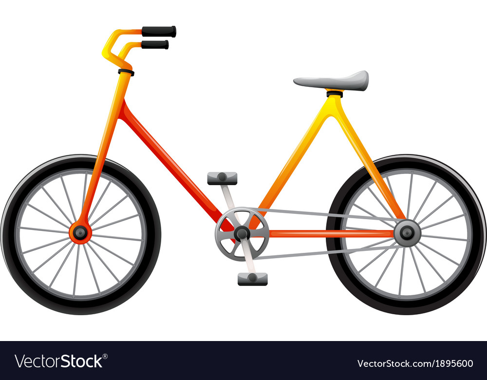 A bicycle vector | Price: 1 Credit (USD $1)