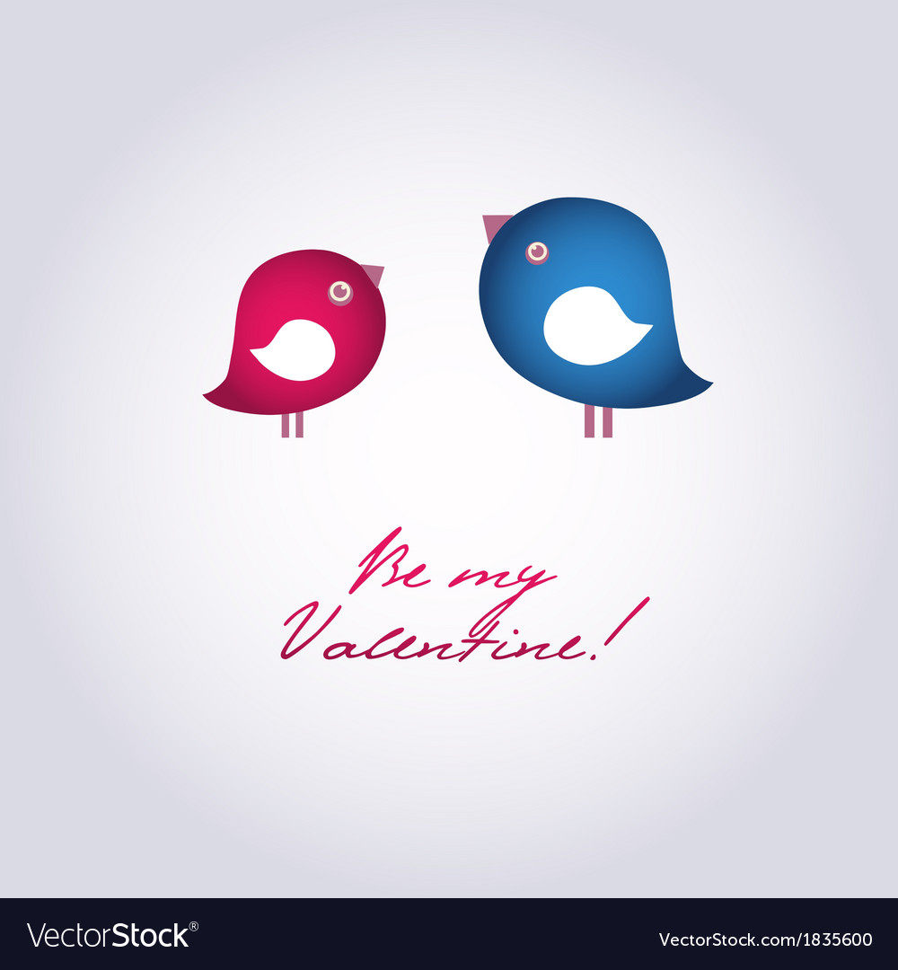 Birds on the love date hand drawn background for vector | Price: 1 Credit (USD $1)