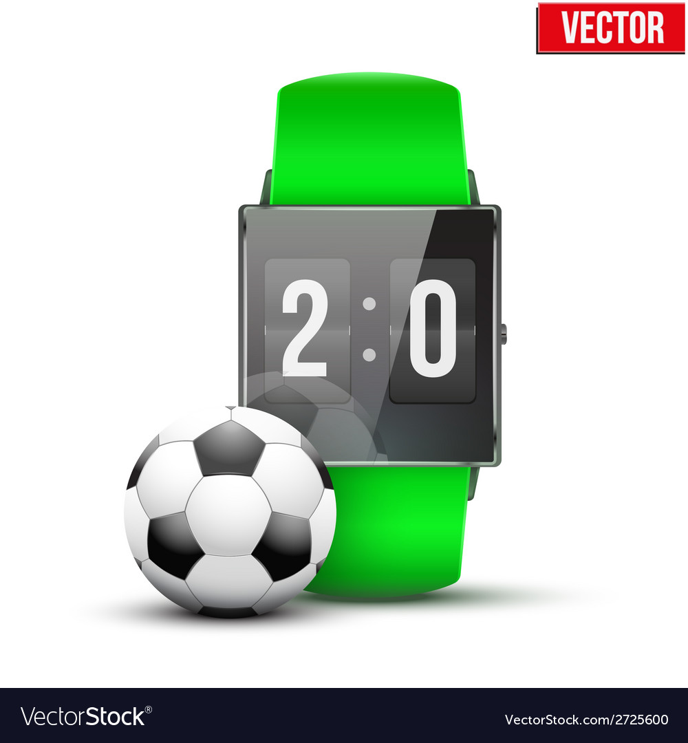 Design example sport wrist smartwatch vector | Price: 1 Credit (USD $1)