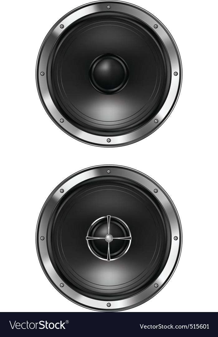 Acoustic loudspeaker vector | Price: 1 Credit (USD $1)