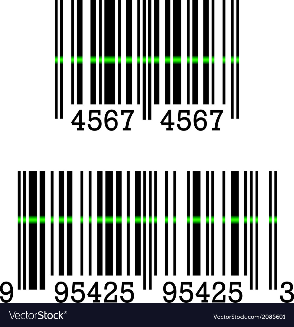Barcodes vector | Price: 1 Credit (USD $1)