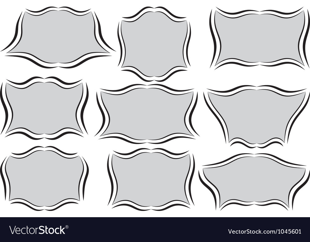 Different frames vector | Price: 1 Credit (USD $1)