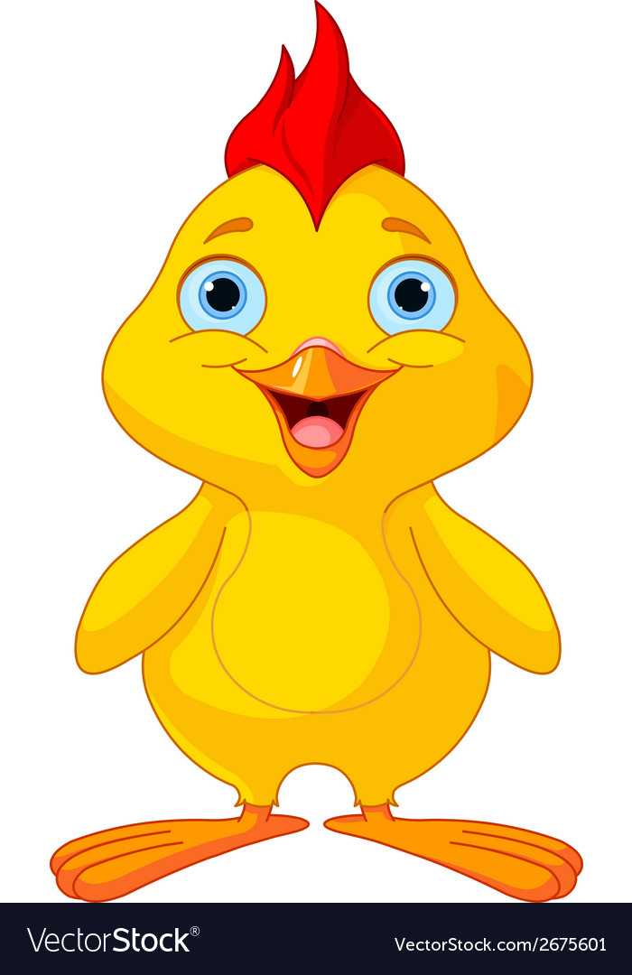 Funny chick vector | Price: 1 Credit (USD $1)