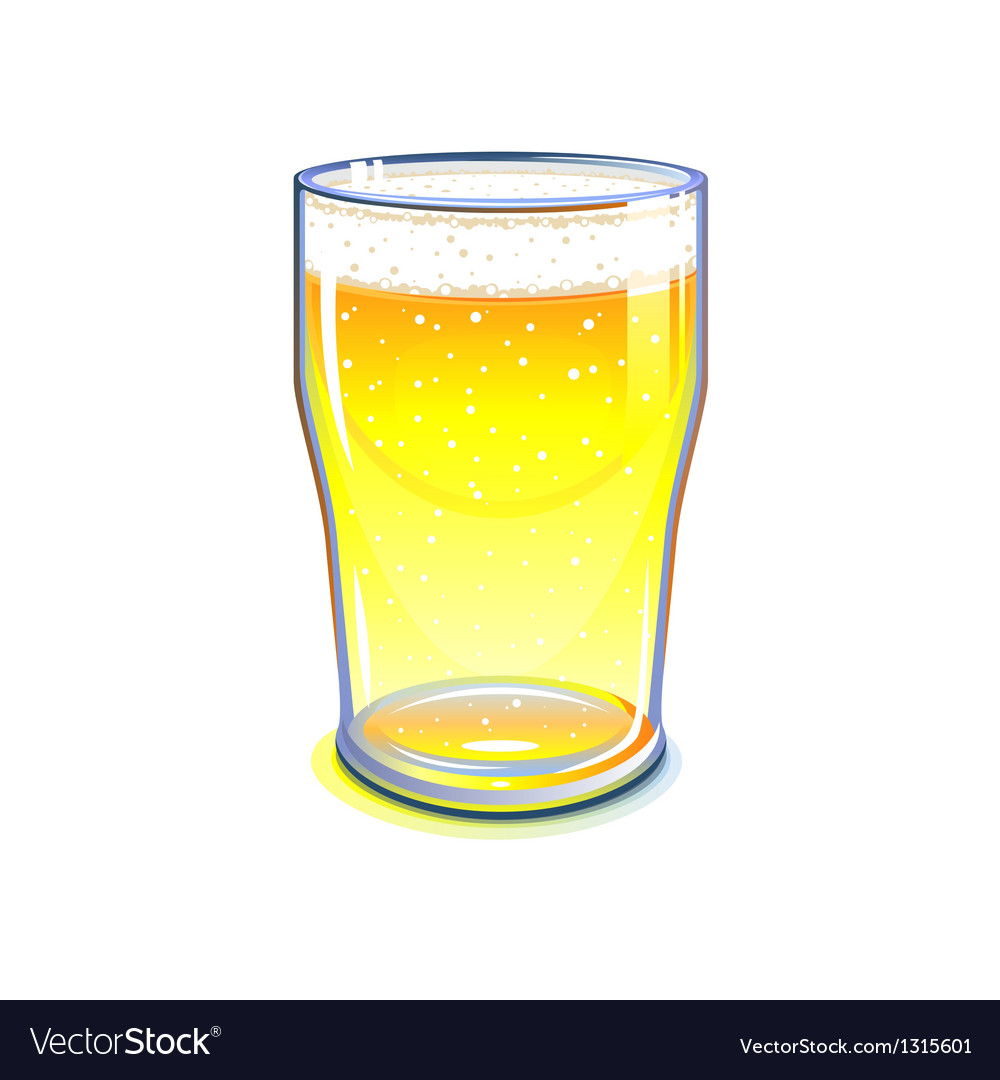 Pint glass vector | Price: 3 Credit (USD $3)