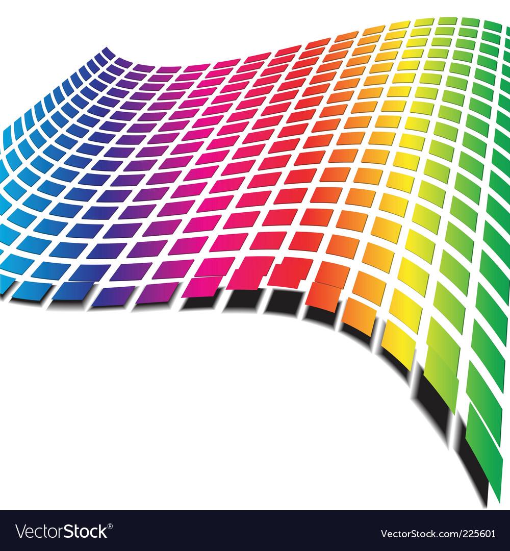 Retro wave pattern vector   Price: 1 Credit (USD $1)