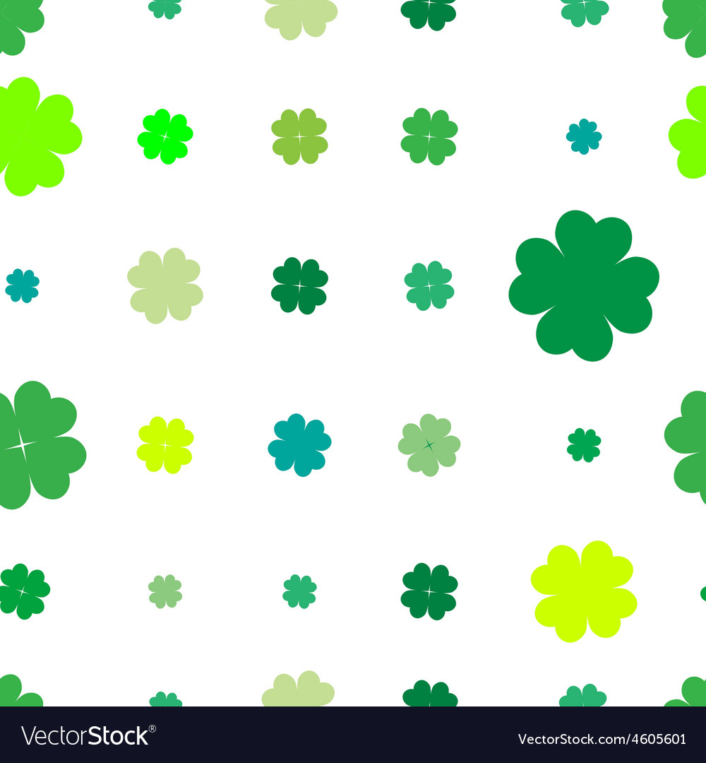 Shamrock sparse pattern vector | Price: 1 Credit (USD $1)