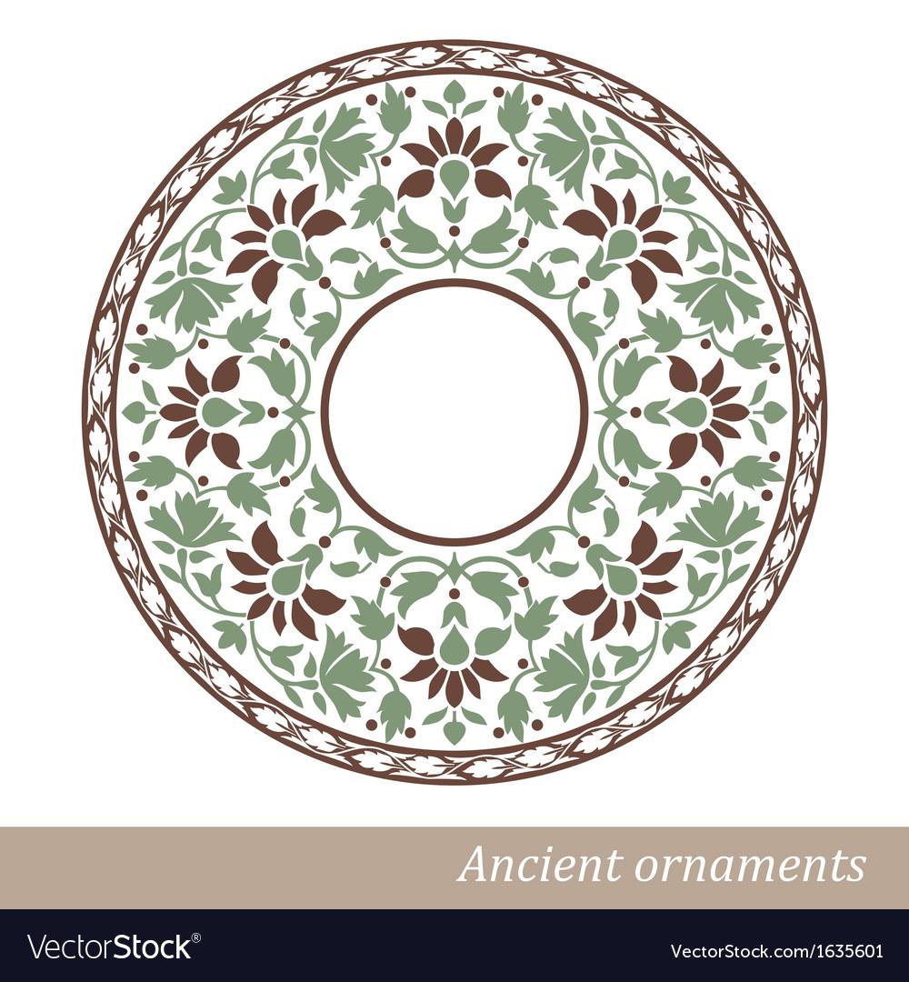 Vintage old ornament vector | Price: 1 Credit (USD $1)
