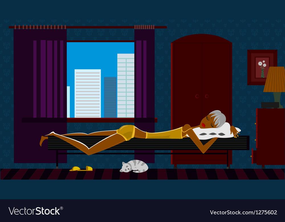 Good sleep vector | Price: 3 Credit (USD $3)