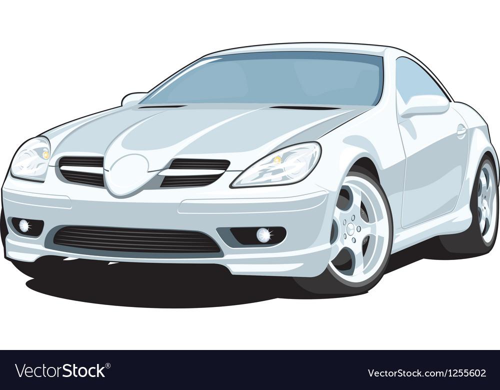 Sports car vector | Price: 3 Credit (USD $3)