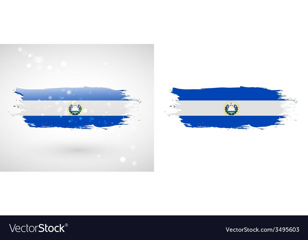 Flag of el salvador vector | Price: 1 Credit (USD $1)