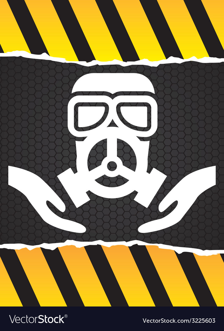 Mask gas design vector | Price: 1 Credit (USD $1)