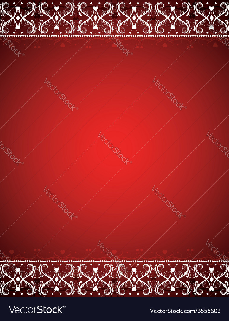 Red certificate background vector | Price: 1 Credit (USD $1)