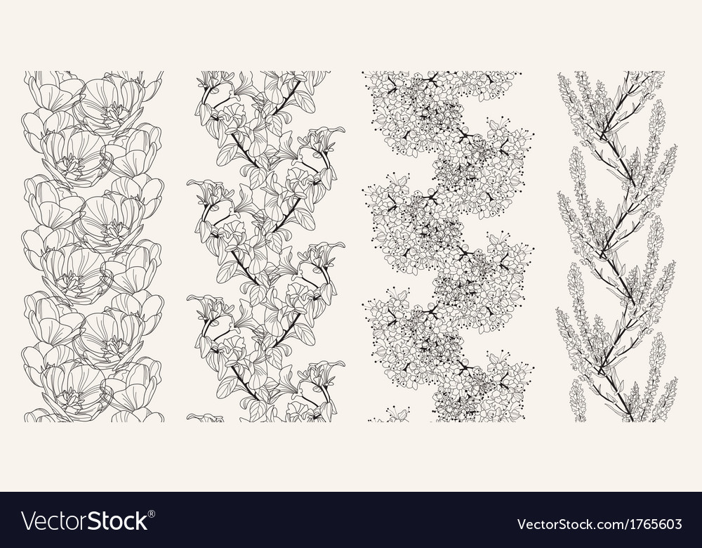 Seamless patterns vector   Price: 1 Credit (USD $1)