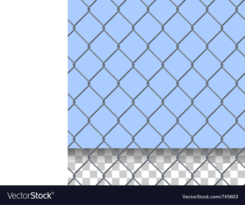 Security fence pattern vector | Price: 1 Credit (USD $1)