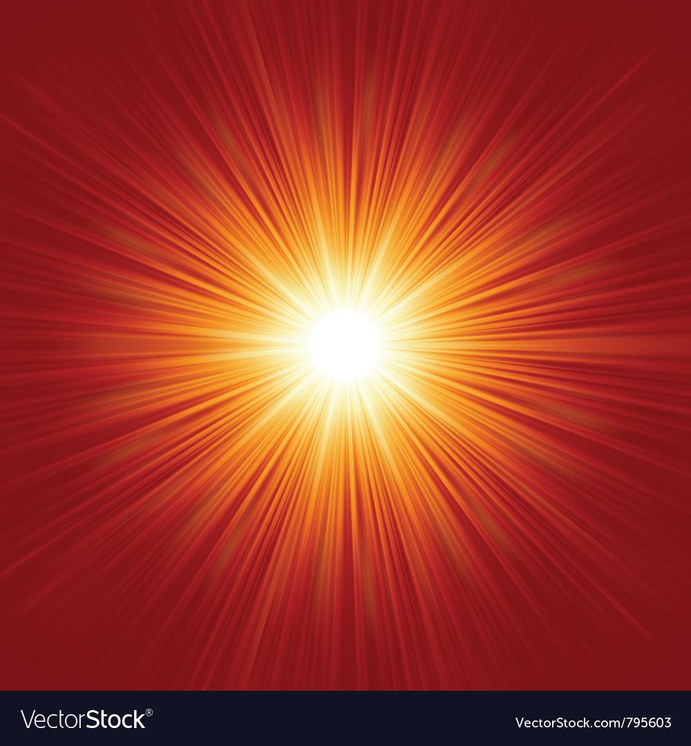 White bursting star vector | Price: 1 Credit (USD $1)