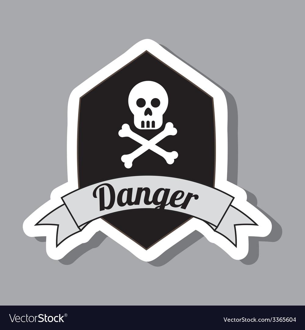 Danger design vector | Price: 1 Credit (USD $1)