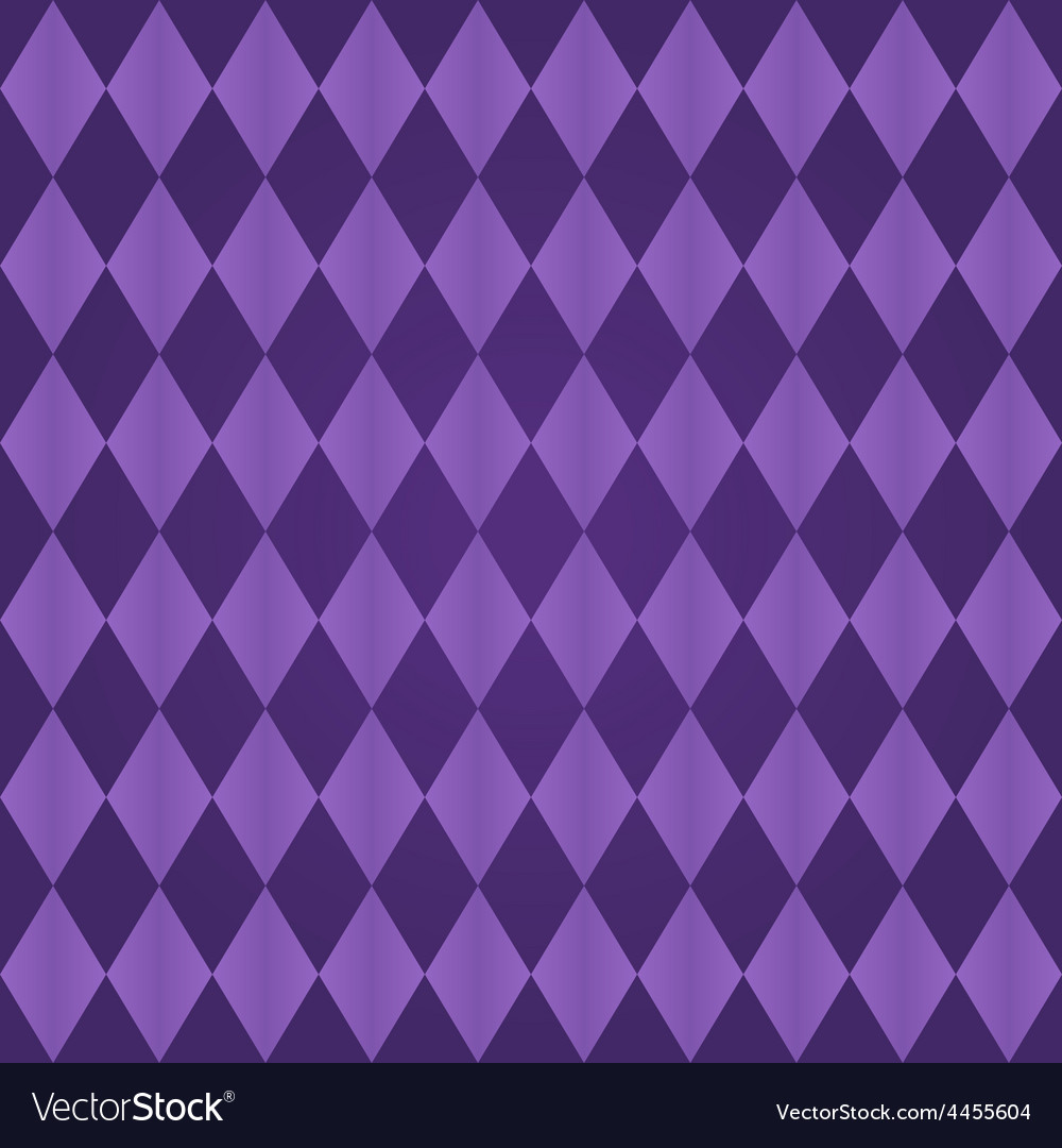 Seamless harlequin pattern-purple vector | Price: 1 Credit (USD $1)