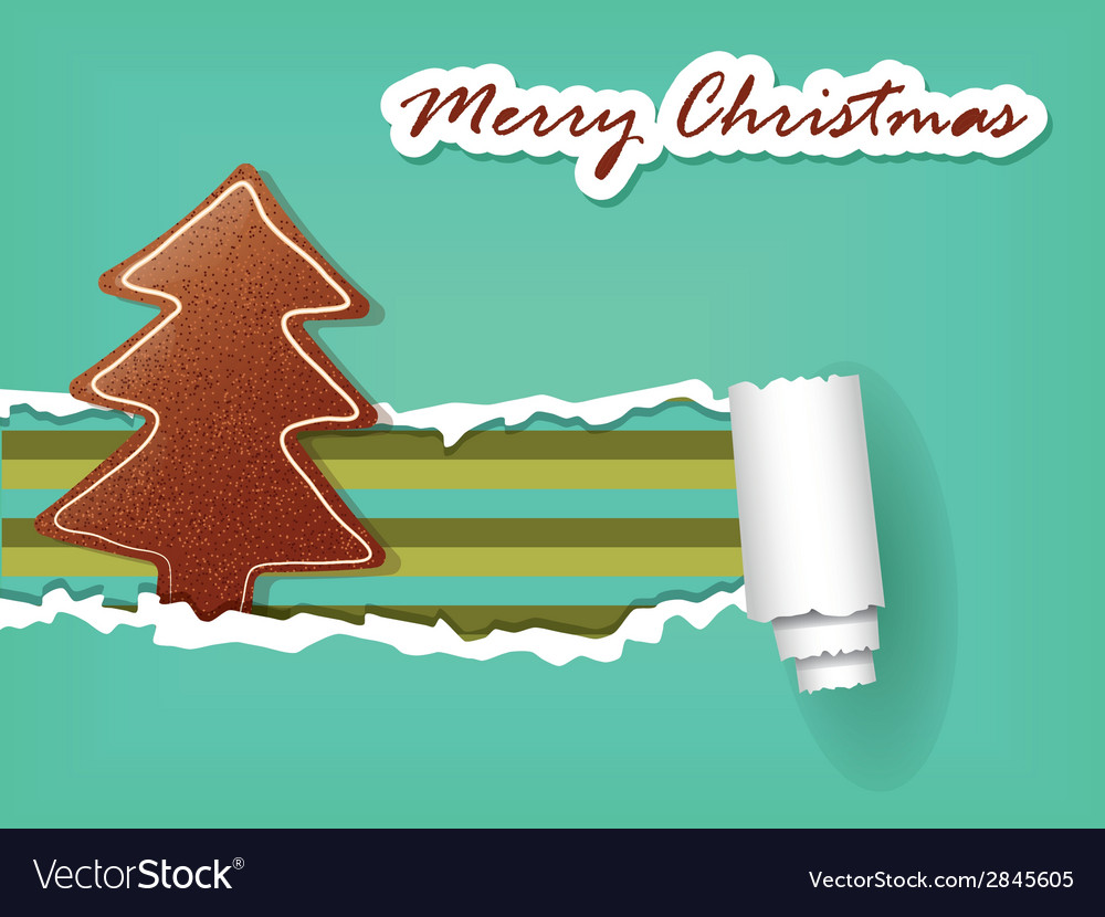 Christmas gingerbread vector | Price: 1 Credit (USD $1)