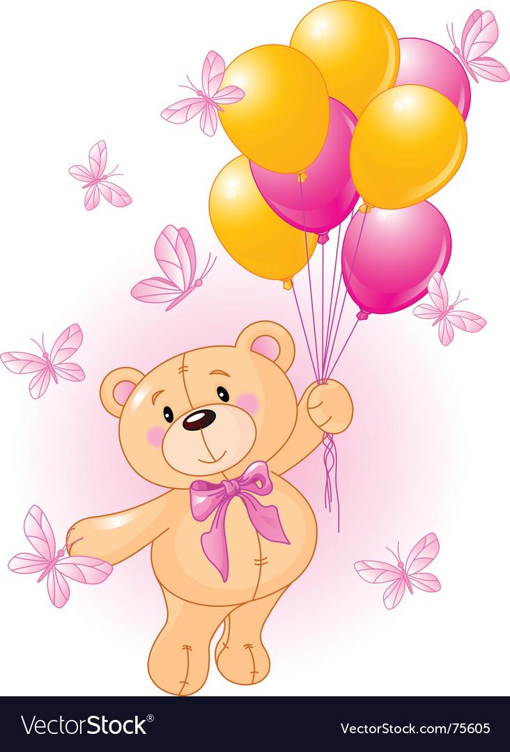 Girl teddy vector | Price: 3 Credit (USD $3)